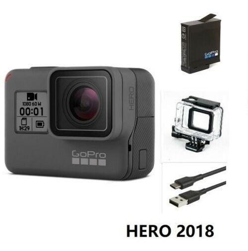 Gopro Hero 2018 Black 5 6 7 8 + Caixa Estanque Avista R$750