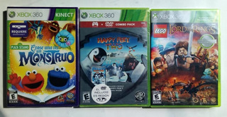 Lego The Lord Of The Rings Xbox 360 3x1
