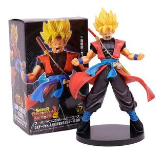Figura Goku Xeno Super Dragon Ball Heroes 22cm Banpres