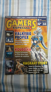 Revista Videogame Valkyrie Profile Playstation Mega Drive