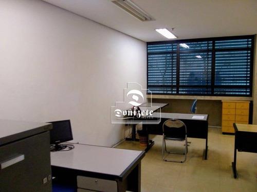 Sala À Venda, 55 M² Por R$ 269.000,00 - Centro - Santo André/sp - Sa1001