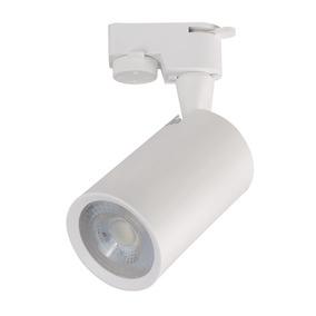Luminária Spot Branco Para Trilho Eletrificado Branco Quente