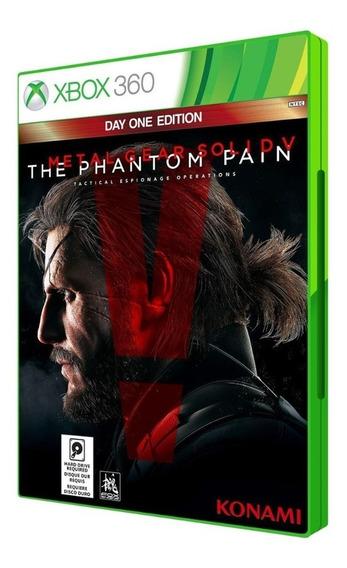 Metal Gear Solid V: The Phantom Pain - Xbox 360 Lacrado