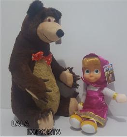 Boneca Masha E O Urso Pelúcia Brinquedos Musicais !!!g