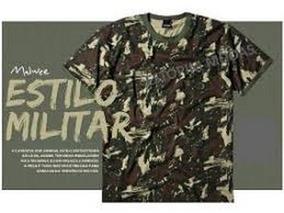 Camisa Camuflada Malwee Combo 3 Camisa + Nome Borbado