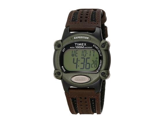 Reloj Hombre Timex Expedition Chrono Alarm Timer Full