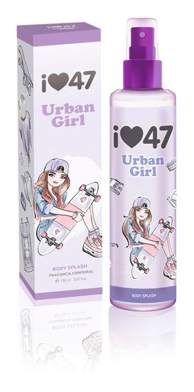 Body Splash 47 Street Urban Girl 150ml