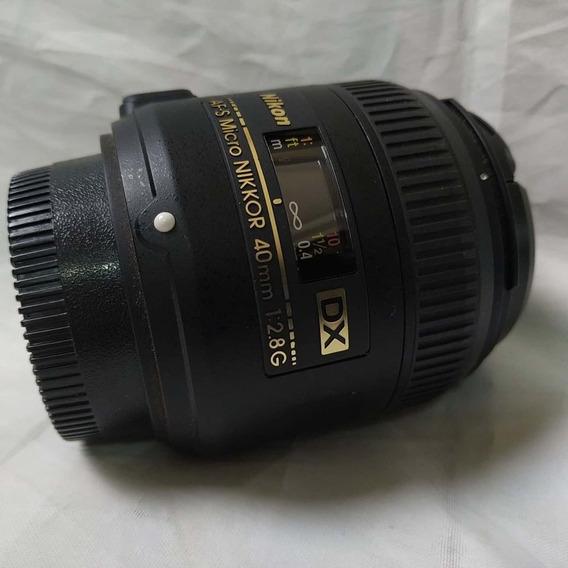 Lente Nikon 40mm F/2.8