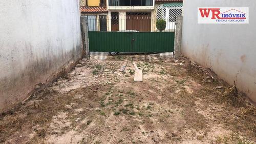 Terreno, 125 M² - Venda Por R$ 245.000,00 Ou Aluguel Por R$ 1.200,00/mês - Jardim Milena - Santo André/sp - Te0130