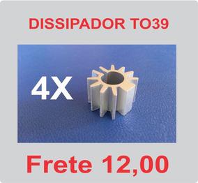 4 Un. Dissipador Para Transistor 2n4427 2n3866 2n3553 - To39