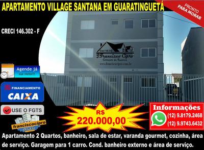 Apartamento A Venda No Bairro Residencial Village Santana Em - Ap094-1