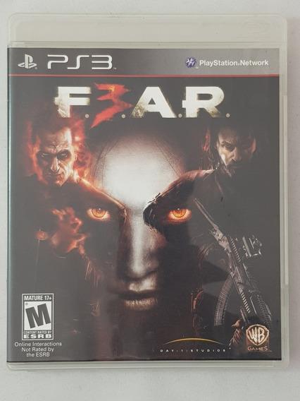 Fear 3 Ps3 Mídia Física Pronta Entrega