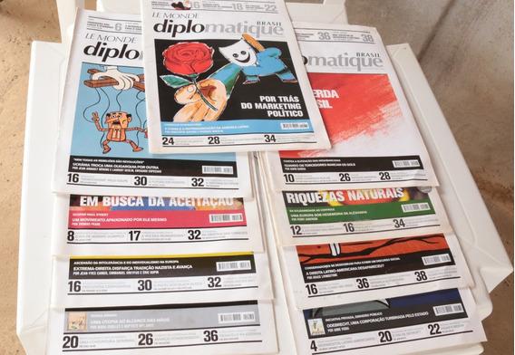 Revistas Le Monde Diplomatique Brasil - 9 Edições