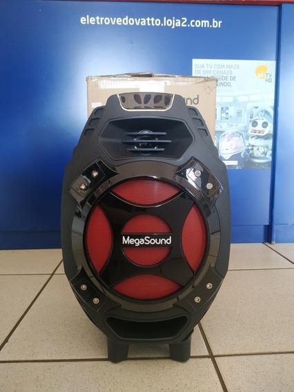 Caixa De Som Portátil Megasound Com Bluetooth