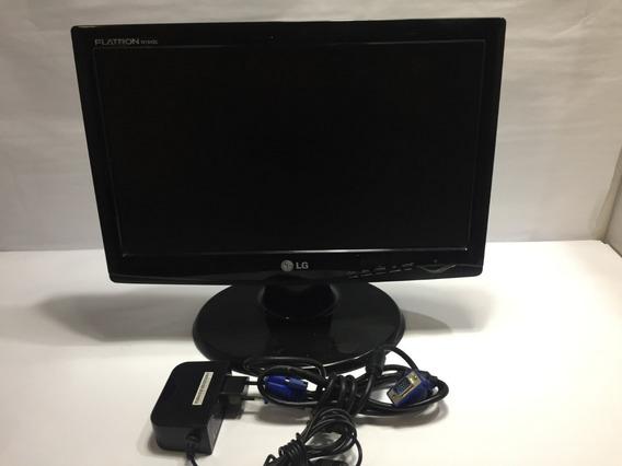 Monitor LG Flatron Modelo W1643c 16 Polegadas-usado