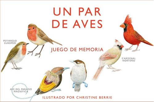 Imagen 1 de 5 de Un Par De Pájaros Juego De Memoria