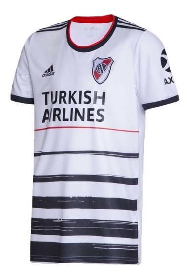 Camiseta River Futbol Hombre 3ª 2020 Original Bco/ngo