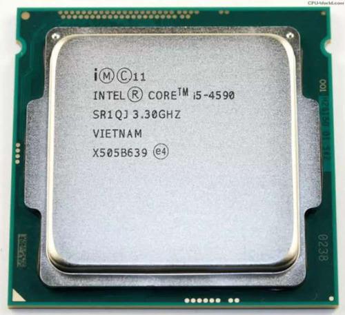 Processador gamer Intel Core i5-4590 CM8064601560615 de 4 núcleos e 3.3GHz de frequência com gráfica integrada
