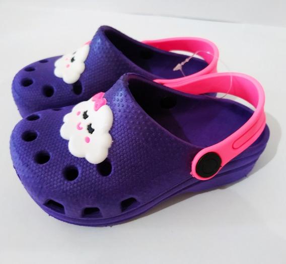 Sandalia Babuche Crocs Infantil Menina