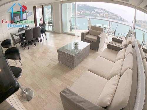 Cad Torre Coral 1502. Terraza Con Vista A La Bahía