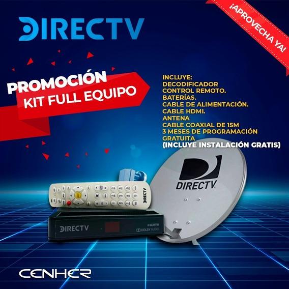Decodificador Directv Kit Hd Instalacion Gratis