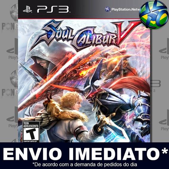 Soulcalibur V 5 Ps3 Psn Jogo Promoção Pronta Entrega Play 3