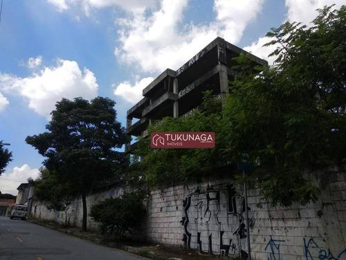 Área De 2700  Entre Os Bairros Da Vila Rosália E Vila Galvão., - Ar0012