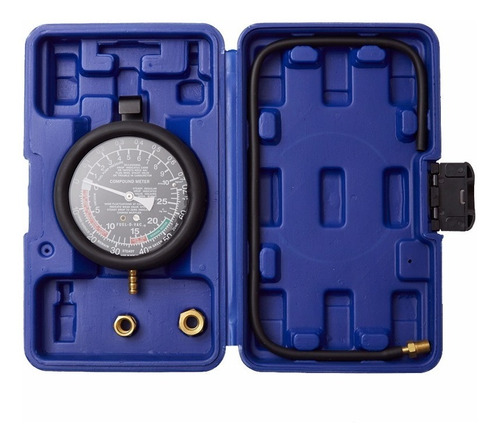 Imagen 1 de 6 de Vacuometro Y Medidor Presion Combustible Manometro Bremen Cod. 2915 Dgm