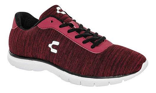 Charly Sneaker Deportivo Rojo Sint Textura Niño C46396 Udt