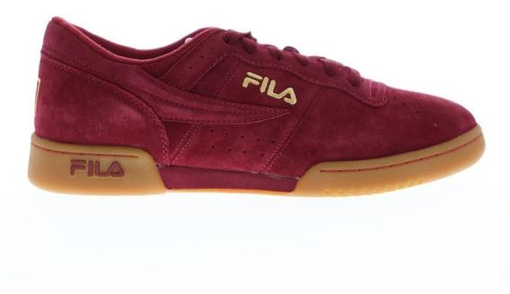 Tenis Fila Hombre Rojo Original Fitness Premium 1vf80119936