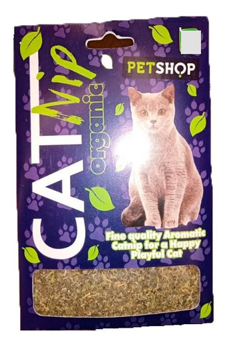 Imagen 1 de 3 de Pasto Relajante Calmante Aromatica Felino Gato Juego Feliz