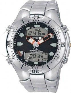 Relógio Citizen Masc Aqualland Il Jp1060-52e Original,barato