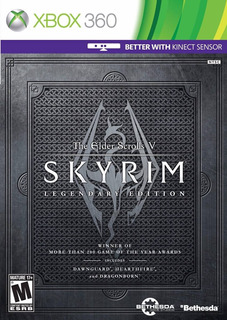 The Elder Scrolls V Skyrim Legendary Edition 360 Nuevo