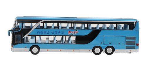 Elétrica 1:50 Liga De Ônibus De Dois Andares Modelo Brinqu