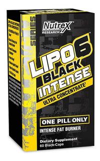 Lipo 6 Black Intense Uc 60caps Nutrex - Original Importado
