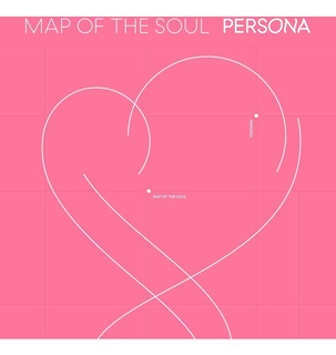 Bts Álbum Map Of The Soul: Persona Cd + Photobook + Minibook
