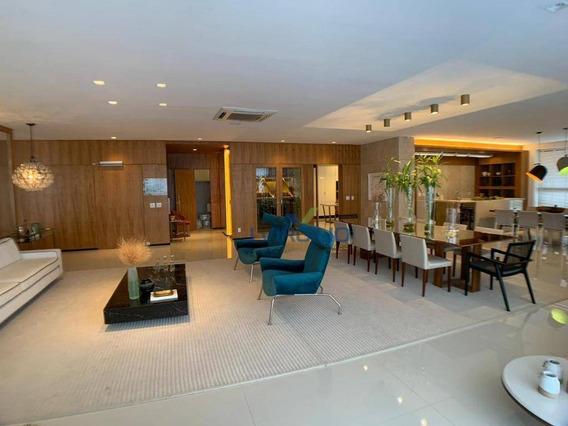 Apartamento Com 5 Quartos À Venda, 482 M² Por R$ 3.272.143 - Setor Nova Suiça - Goiânia/go - Ap0300