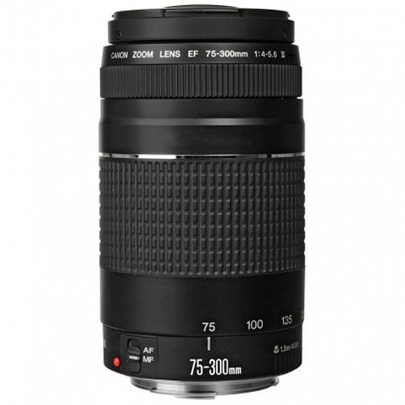 Lente Canon 75-300mm F/4-5.6 Iii Ef Autofoco