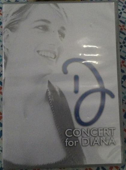 Dvd Concert For Diana - Dvd Duplo / Elton John