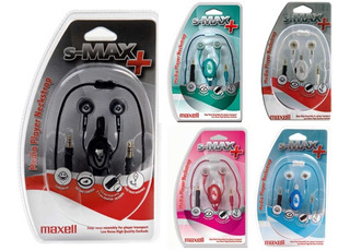 Auriculares Maxell In Ear S-max Tunes
