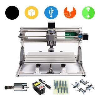 Maquina Cnc 3018 + Laser 5500mw 5.5w Corte Grabado Usb 30x18