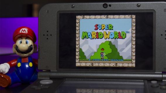 3ds 1334 Jogos Cia Do Virtual Console Snes-nes-gb-gbc-gba-md