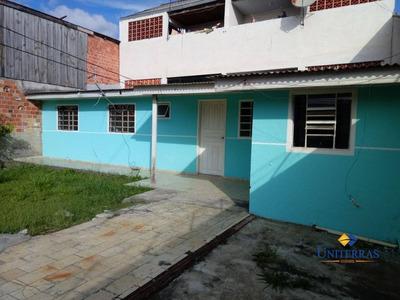 Casa Com 2 Quartos Para Alugar Em Colombo - Maracanã - Ca0115
