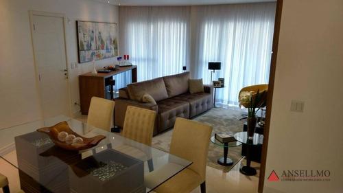 Apartamento À Venda, 149 M² Por R$ 1.100.000,00 - Centro - São Bernardo Do Campo/sp - Ap1824