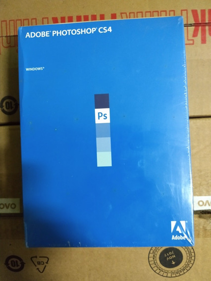 Adobe Fhotoshop Cs4 Midia Original, Novo.