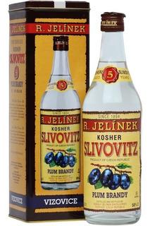 Dia Del Amigo Brandy Slivovitz Kosher Silver 5 Años C/lata