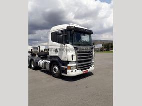Scania R-440 A 6x4 (e5) 2013 Branca