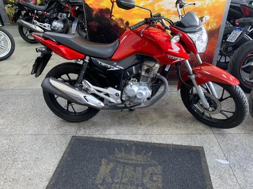 Imagem 1 de 8 de Honda Cg 160 Fan - 2020 - Vermelha - King Motos