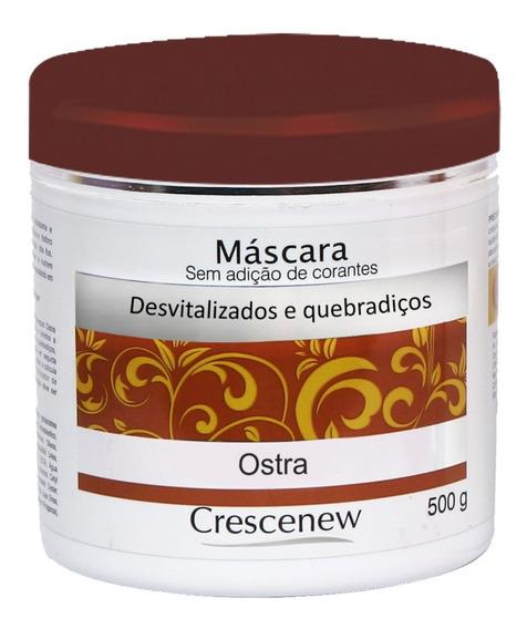 Máscara Hidratante Cabelo Ostra Com Queratina - Crescenew