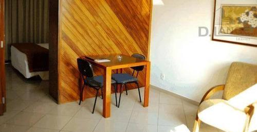 Imagem 1 de 7 de Apartamento Com 1 Dormitório À Venda, 50 M² (ot. Renda Já Locado) - Centro - Campinas/sp - Ap18329
